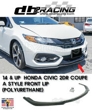 14-15 Civic Coupe 2 Door JDM  A-Style Front Lip (Urethane) 2014 2015