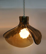 60s Kalmar Franken Deckenlampe Eisglas glass lamp Mazzega Ceiling Mid Century