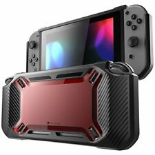 Mumba Nintendo Switch Case Impact Cover Double Protection Red Rugged New