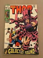 Thor #168, GD/VG 3.0, Origin of Galactus; Cover Detached