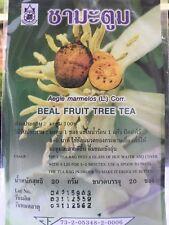 PURE  NATURAL ORGANIC BAEL FRUIT TREE  TEA THAI HERBAL TEA FOR HEALTHY  BODY