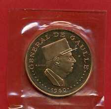 (ES 43) ESSAI COLONIES FRANÇAISE 10000 FRANCS TCHAD 1960 DE GAULLE (RARE)