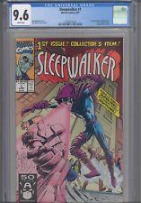 Sleepwalker #1 CGC 9.6 1991 Marvel 1st App Direct Edition has Upper Deck Insert