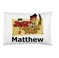 JAKE AND THE NEVERLAND PIRATES Personalized childrens kids BED pillow case