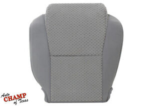 For 2008 2009 2010 2011 Toyota Tundra -Driver Side Bottom Cloth Seat Cover Gray