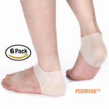 e2b7169b25 Plantar Fasciitis Heel Cushion 3 Pairs Pedimend™ Back Foot Sleeve Gel  Protector