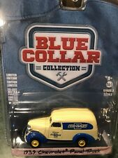 Greenlight Blue Collar  1939 Chevrolet Panel Truck Genuine Chevrolet Parts