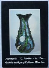 KETTERER AUKTIONSKATALOG 70 MÜNCHEN MAI 1983 JUGENDSTIL ART DECO 917 Positionen