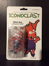 "Iconoclast Toys Bootleg Bart ""Devil Boy"" - Collectible Resin Manny X Romero"