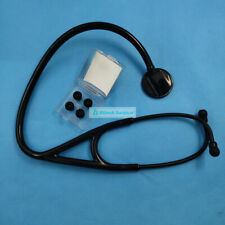 New Professional Cardiology Stethoscope Black Warranty