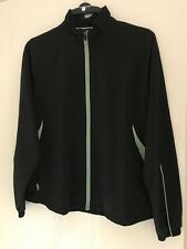 GLENMUIR LADIES CHARLOTTE LONG SLEEVE GOLF WIND SHIRT MEDIUM