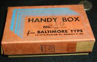 Baltimore Type Box of 10pt  Letter Press~Full Stops/Periods