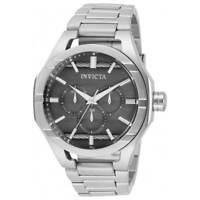 Invicta Men's Watch Bolt Quartz Gunmetal Dial Silver Tone Bracelet 31827