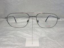 Original Eschenbach Brille Brillenfassung 3689 Farbe 30 grau silber