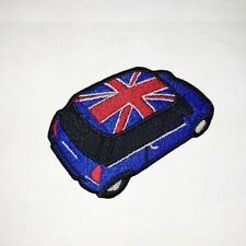 Mini UnionJack Cooper Embroidered Badge Iron On/Sew On Clothe Jacket Jeans N-259