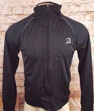 Ambiguous Clothing Jacket Men Size S Running Lightweight Warm Up Full Zip Black