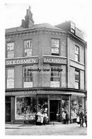 pt5257 - York , James Backhouse , Seedsmen c1906 , Yorkshire - photograph 6x4