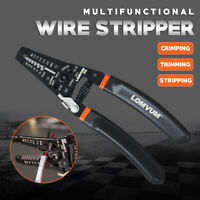 Automatic Self Multi Adjustable Cable Wire Cutter Stripper Plier Terminal Tool
