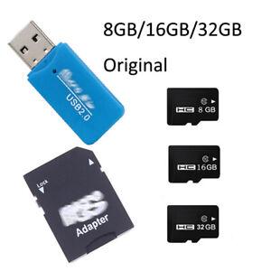 Portable Micro TF Memory Card 8GB-32GB Memory &SD Card Adapter &USB Card Reader