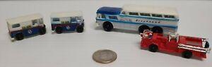 Bachmann N Scale Trains / Buildings Motor truck Set #2 Number 7019