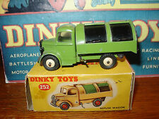 Dinky Toy #252 Bedford Refuse Truck - HTF Issue in Olive Green - Original Box