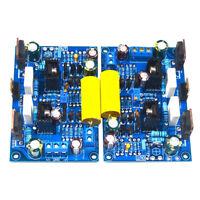 2pcs 100W Amplificateur Récepteur Mini Hi-Fi Classe A Ampli Stéréo