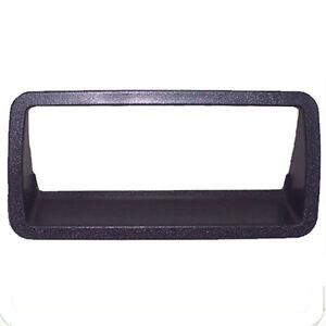 fits 94-04 GMC S10 Sonoma Outside Tailgate Handle Bezel Black Rear 15007219