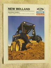 1993 FORD NEW HOLLAND L464,L465,Lx465,L565,Lx565,665 SKID STEER LOADERS BROCHURE