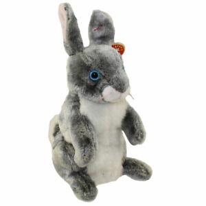 TY Beanie Baby - HOPPER the Bunny (7 inch) - MWMTs Stuffed Animal Toy