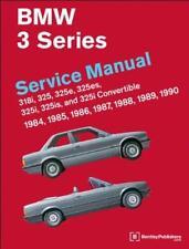 Bentley BMW 3 Series E30 Coupe Cabriolet Owners Manual de servicio de reparación Manual