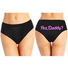 Women Sexy Letter Print Low Rise Naughty Briefs Shorts Panties Underwear Knicker