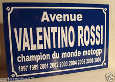 VALENTINO ROSSI plaque création originale édition limitée cadeau collectionneur
