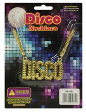 Disco Necklace 70s Staurday Night Fever Fancy Dress