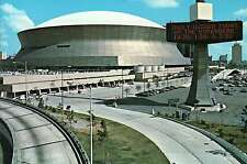Superdome, Home of the Football Team  New Orleans Saints, Louisiana --- Postcard