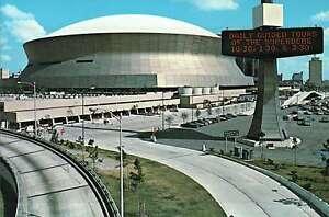 Superdome, Home of the Football Team  New Orleans Saints, Louisiana --- Postcard