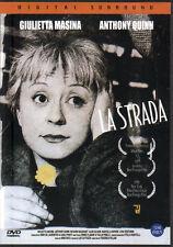 La Strada  The Road - Giulietta Masina Anthony Quinn Richard Baseheart (NEW) DVD