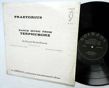 PRAETORIUS Dance Music from TERPSICHORE Telemann Society Orch AMPHION LP