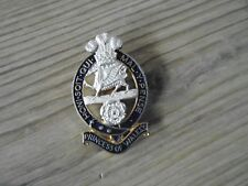 PRINCESS OF WALES CAP BADGE FIRMIN BRITISH ARMY ISSUE
