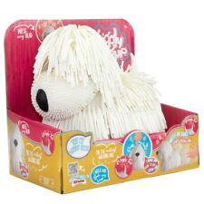 Jiggly Pup The Walking and Barking Dog - White