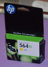 Genuine HP 564 XL Yellow Photosmart Ink Cartridge CB325WN Save 2.5X - New Sealed