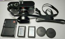 Leica M Typ 240 black