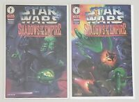 STAR WARS 2 EXCLUSIVE KENNER SHADOWS OF THE EMPIRE DARK HORSE COMIC BOOKS 1996