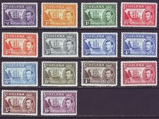 St Helena 1938 SC 102-120 MH Set Ship
