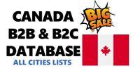 Canada B2B Email Database,  Canada B2B email lists, Canada B2C emails, free