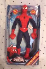 Marvel Ultimate Spider-Man Ultra Pose Super Suction Action Plush Soft Toy 15""