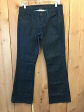 Levis Ultra Low Boot Cut 522 Women's 6s Dark Wash Blue Jeans Pants 6 Short