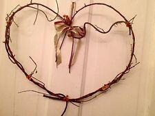 Heart Shaped Genuine Bittersweet Wreath- Large