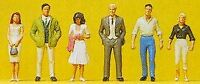 PREISER HO SCALE 1/87 PASSERS-BY (6) | BN | 10022