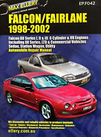 Max Ellery Falcon/Fairlane 1998-2002 Automobile Repair manual EP.F042 NEW