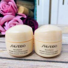 Shiseido Benefiance Wrinkle Smoothing Cream travel .53 Oz 15ml set x 2= 1.06 oz